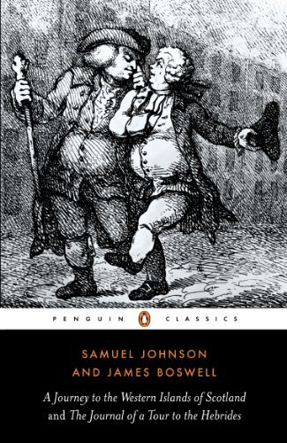 Samuel Johnson The Journey To The Western Islands Of Scotland And