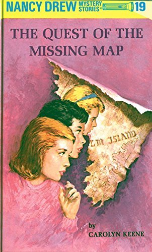 Carolyn Keene Nancy Drew 19 The Quest Of The Missing Map