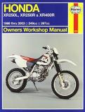 Alan Harold Ahlstrand Honda Xr250l Xr250r & Xr400r Owners Workshop Manu 1986 2003 0003 Edition;revised