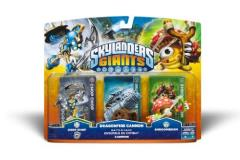 Skylanders Skylander Giants 3 Pack Chop Chop Dragonfire Cannon Shroomboom
