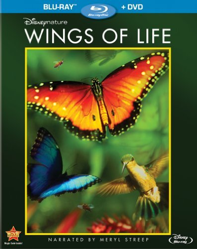 Disneynature Wings Of Life Blu Ray DVD G