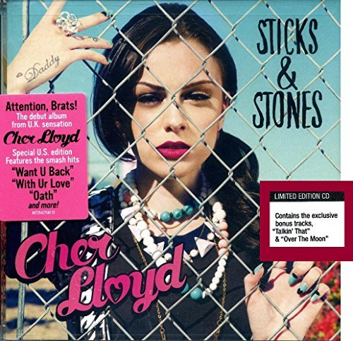 Cher Lloyd Busta Rhymes Carolina Liar Becky G Cher Lloyd Sticks & Stones Limited Edition CD In