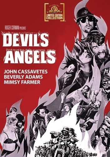 Devil's Angels Cassavetes Adams Taylor DVD Mod This Item Is Made On Demand Could Take 2 3 Weeks For Delivery