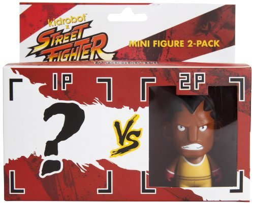 Kidrobot Street Fighter Mini Figure 2 Pack Balrog T13sr017