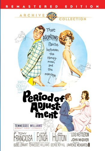 Period Of Adjustment (remaster Franciosa Fonda Hutton Bw Ws DVD R Nr