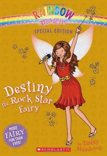 Daisy Meadows Destiny The Rock Star Fairy