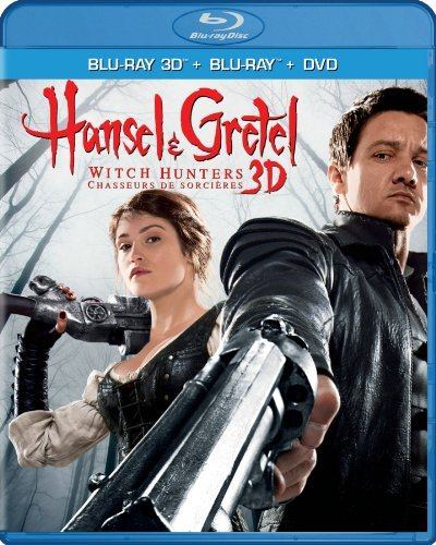 Hansel & Gretel Witch Hunters Renner Janssen Arterton 3d Blu Ray DVD Dc R