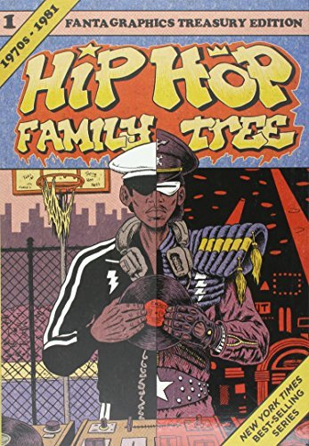 Ed Piskor Hip Hop Family Tree Book 1 1975 1981