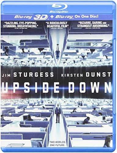 Upside Down 3d 2d Dunst Sturgess Blu Ray Ws Pg13
