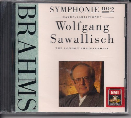 J. Brahms Sym 2 In D Op. 73 Variations On A Sawallisch Wolfgang