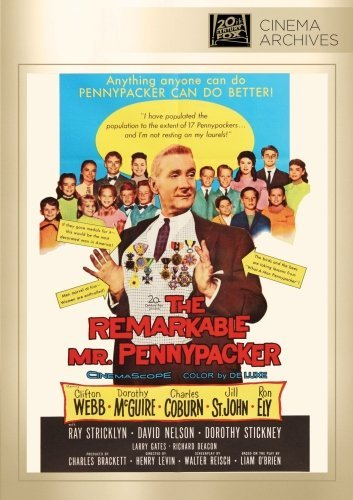 Remarkable Mr. Pennypacker Webb Mcguire Coburn John Ely DVD Mod This Item Is Made On Demand Could Take 2 3 Weeks For Delivery