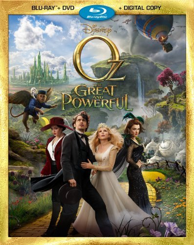 Oz The Great & Powerful Franco Kunis Williams Blu Ray Ws Pg Incl. DVD Dc