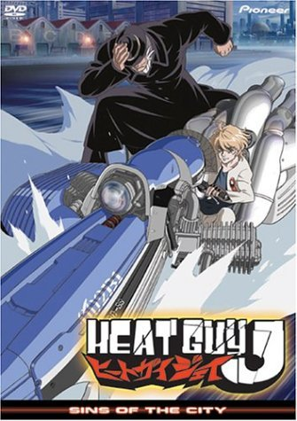 Heat Guy J Vol. 3 Sins Of The City Clr Ws Jpn Lng Eng Sub Dub Nr