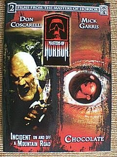 Masters Of Horror Incident On & Off Mountain Road Chocolate DVD