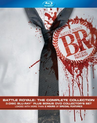 Battle Royale Complete Collec Battle Royale Complete Collec Blu Ray Ws Nr 3 Br 1 DVD