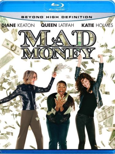 Mad Money Holmes Keaton Latifah Blu Ray Ws Pg13