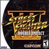 Sega Dreamcast Street Fighter 3 Double Impact T