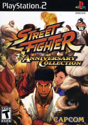 Ps2 Street Fighter Anniversary Collection