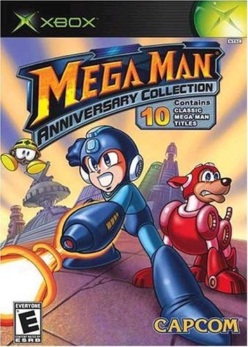 Xbox Megaman Anniversary Collection