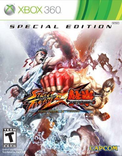 X360 Street Fighter X Tekken Special Edition