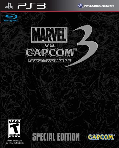 Ps3 Marvel Vs. Capcom 3 Fate Of Two Worlds Special Edition