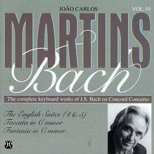 J.S. Bach/English Suite 4/5/Toccata/Fant@Martins*carlos Joao (Pno)