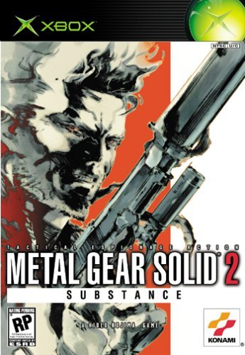 Xbox Metal Gear Solid 2 Substance