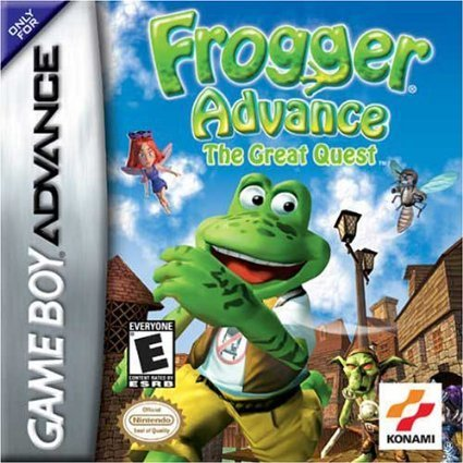 Gba Frogger Great Quest