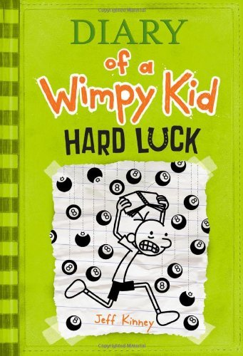 Jeff Kinney Diary Of A Wimpy Kid #8 Hard Luck