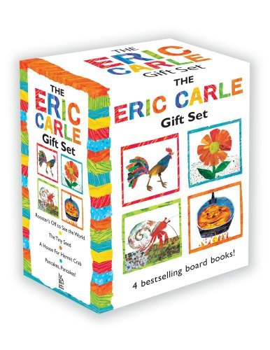 Eric Carle The Eric Carle Gift Set The Tiny Seed; Pancakes Pancakes!; A House For H Boxed Set