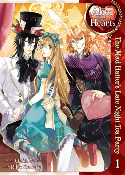 Quinrose Alice In The Country Of Hearts The Mad Hatter's Late Night Tea Party Vol. 1