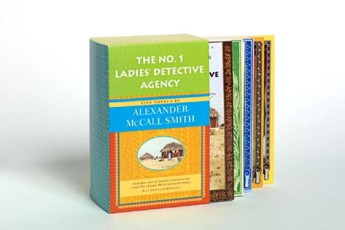 Alexander Mccall Smith The No. 1 Ladies' Detective Agency Set The No. 1 Ladies' Detective Agency Tears Of The G