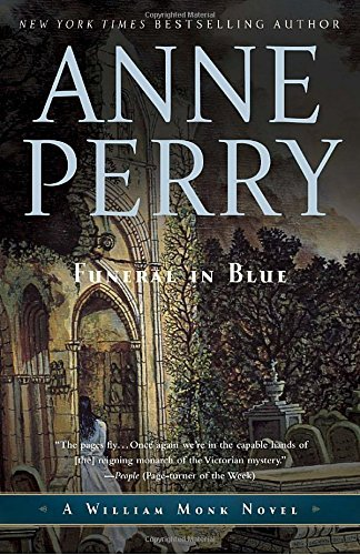 Anne Perry Funeral In Blue