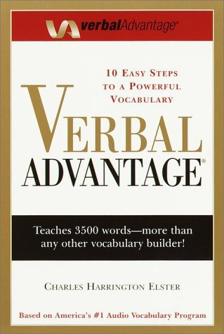 Charles Harrington Elster Verbal Advantage Ten Easy Steps To A Powerful Vocabulary Large Print