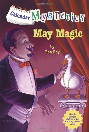 Ron Roy Calendar Mysteries #5 May Magic