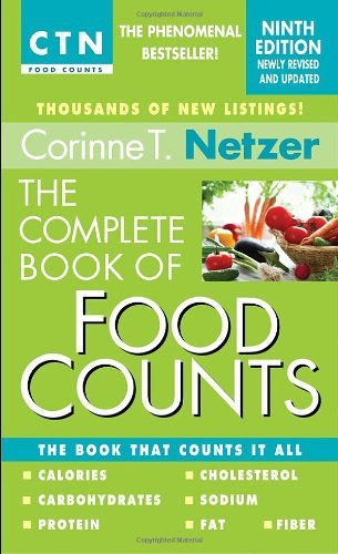 Corinne T. Netzer The Complete Book Of Food Counts 0009 Edition;