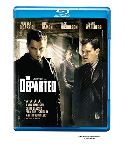 Departed Dicaprio Damon Nicholson Wahlberg Blu Ray Ws R