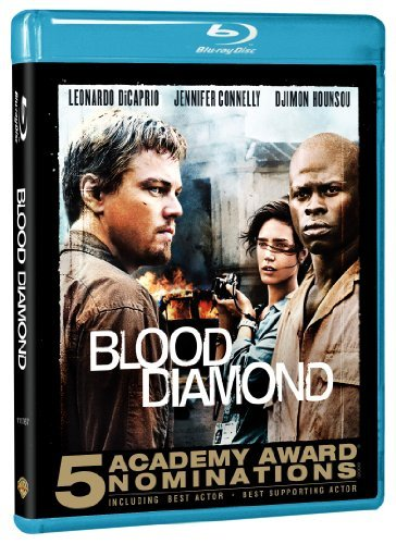 Blood Diamond Dicaprio Hounsou Connelly Blu Ray R