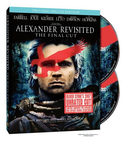 Alexander Revisted Final Cut Farrell Jolie Kilmer Clr Ws Nr Unrated 2 DVD