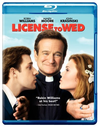 License To Wed Williams Moore Krasinski Blu Ray Ws Pg13