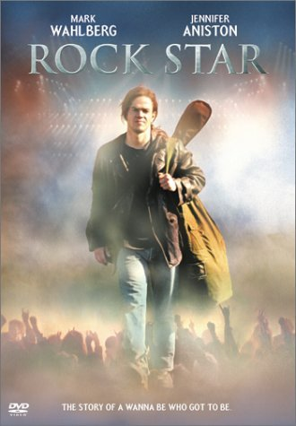 Rock Star Wahlberg Aniston West Dominczy DVD Wahlberg Aniston West Dominczy