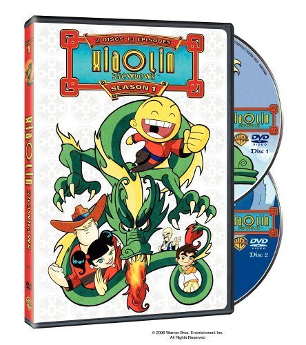 Xiaolin Showdown Season 1 DVD Nr