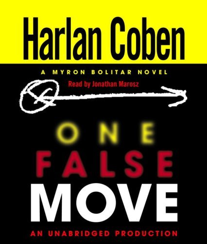 Harlan Coben One False Move A Myron Bolitar Novel