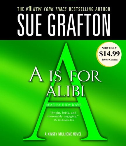 Sue Grafton A Is For Alibi Abridged