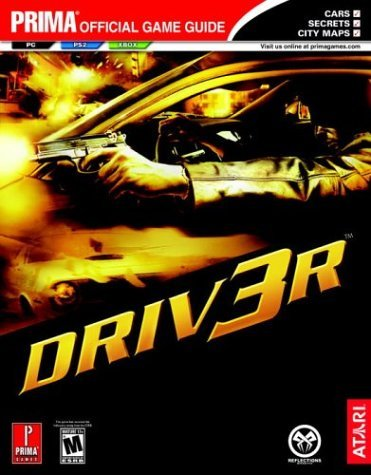 Prima Games Driver 3 Prima Official Game Guide