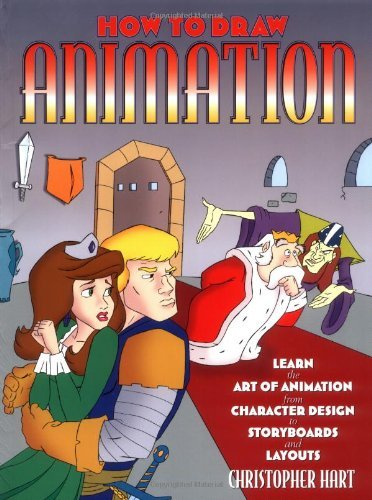 Christopher Hart How To Draw Animation Learn The Art Of Animation From Character Design