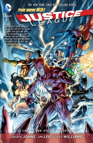 Geoff Johns Justice League Vol. 2 The Villain's Journey (the New 52)