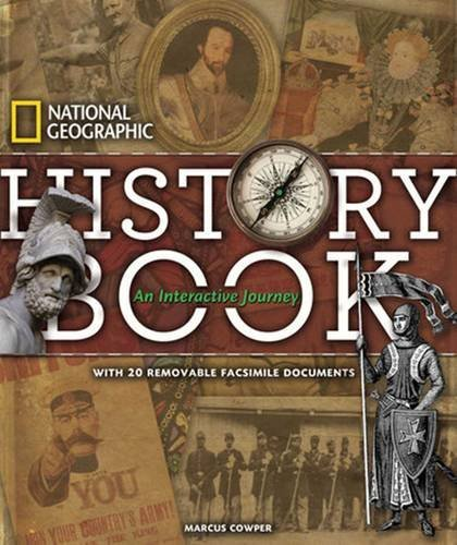 Marcus Cowper National Geographic History Book An Interactive Journey