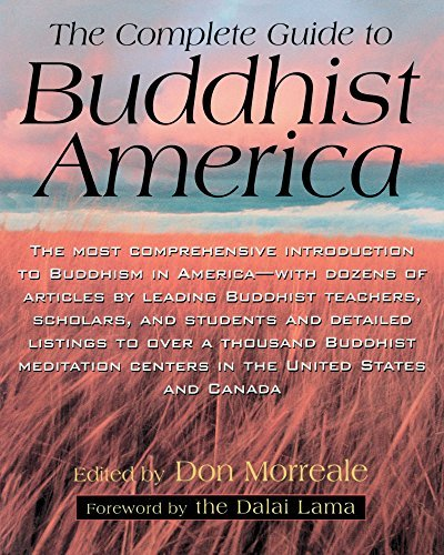 Don Morreale Complete Guide To Buddhist America Revised