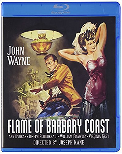 Flame Of Barbary Coast (1945) Wayne Dvorak Blu Ray Ws Nr